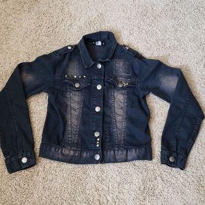 Abby Dawn dark denim jacket